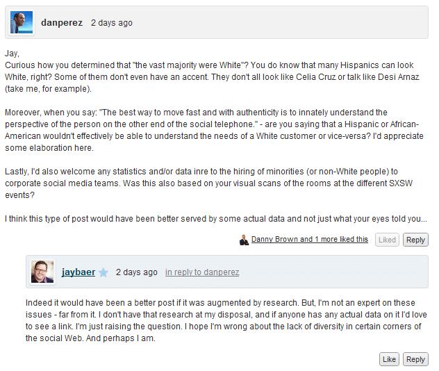 Fan Perez on Jay Baer blog