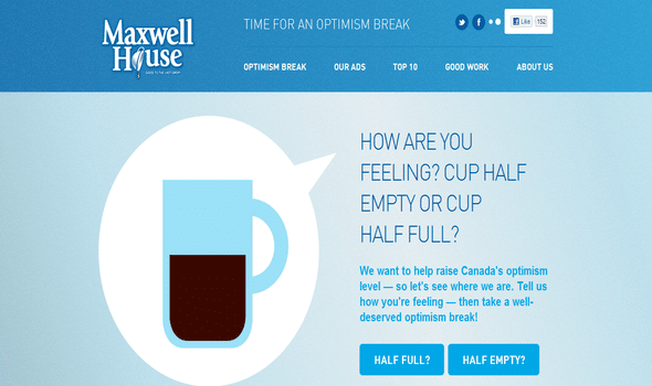 Maxwell House brew some good