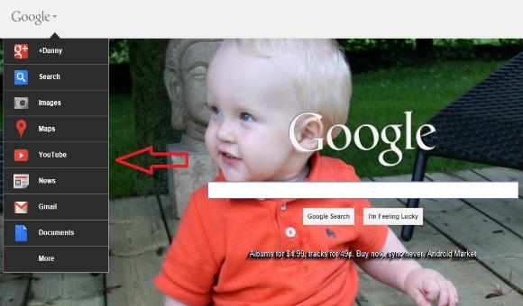 Google sidebar