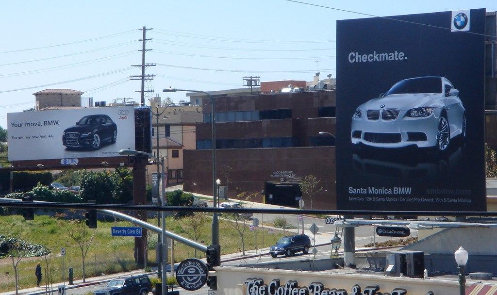 Audi versus BMW