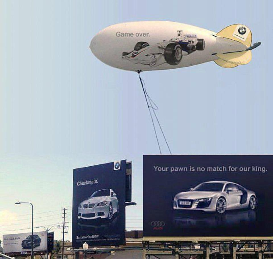 Audi versus BMW sports car battle