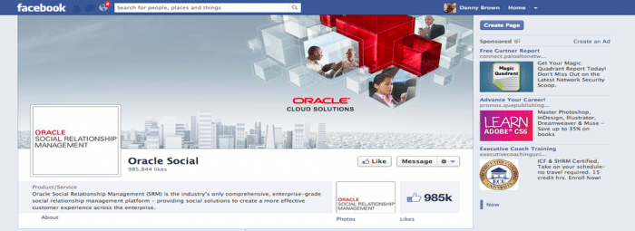 The Mysterious Case of Oracle Social and Facebook Likes