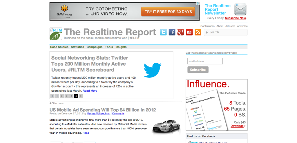The Realtime Report