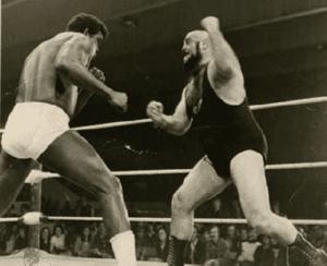 Wrestling legend Ted Herbert