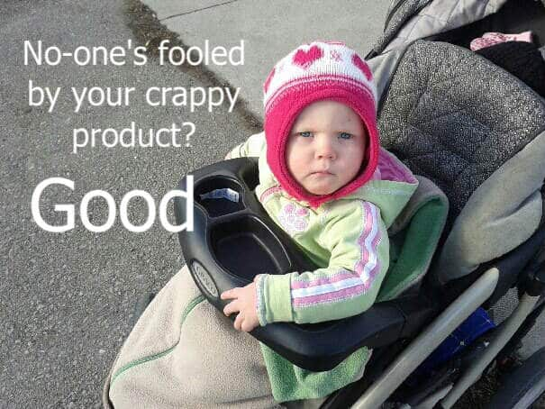 Salem crappy product quote