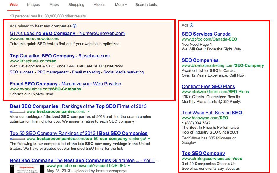 best seo companies Google Search
