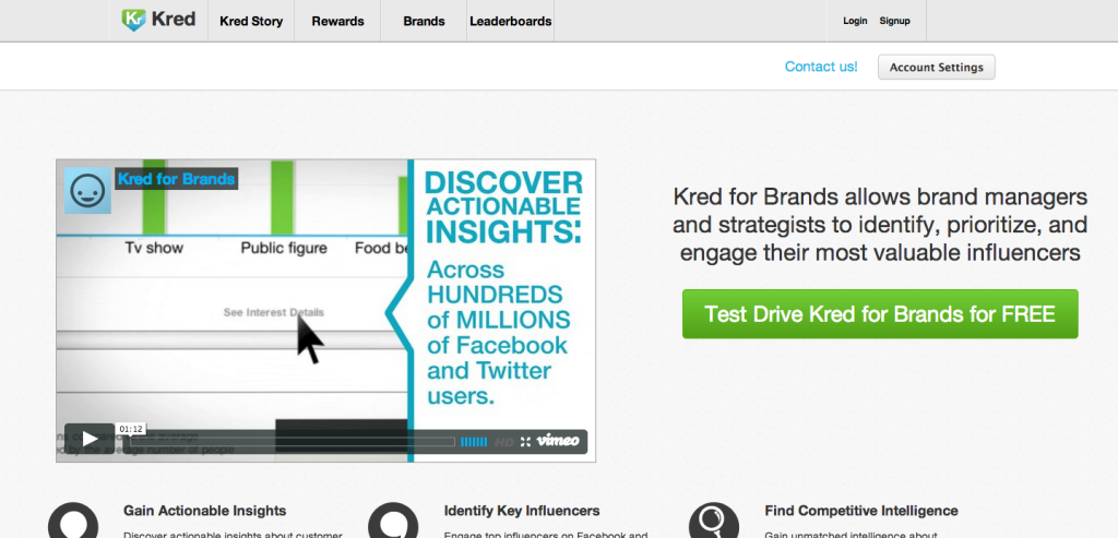 Kred for Brands