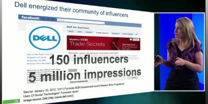 Influence and the social web