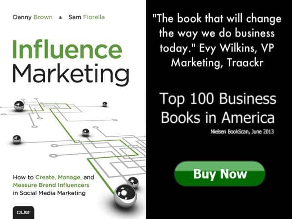 Buy the Influence Marketing book