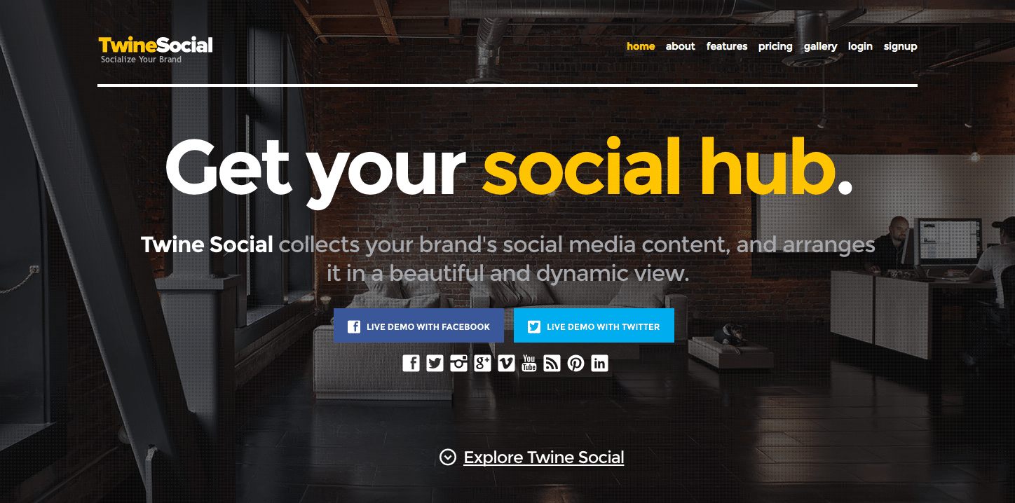 Beautiful Content Curation with TwineSocial Social Hub