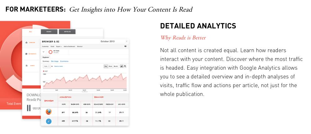 Readz Analytics