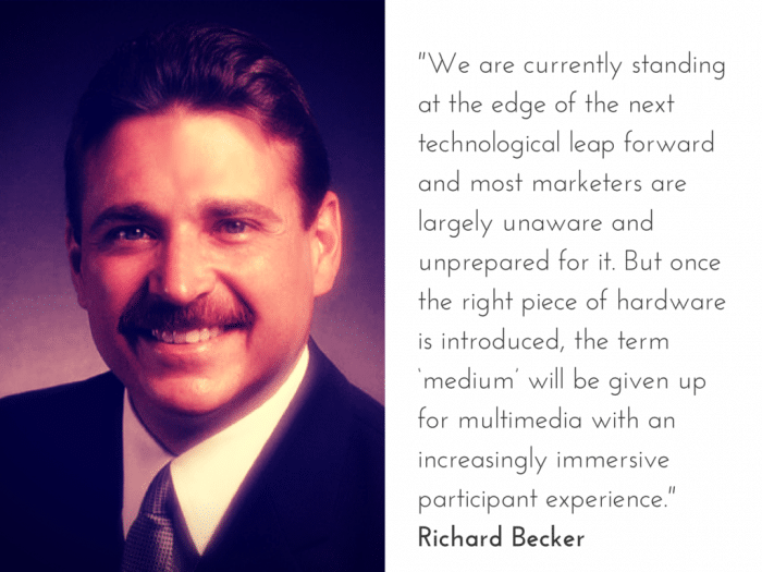 Richard Becker on the Future of Content