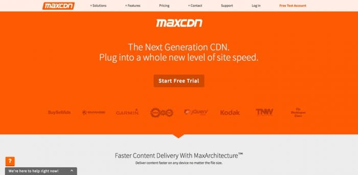 CDN by MaxCDN | Experts in Content Delivery Network Services