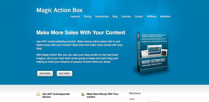 Magic Action Box pro