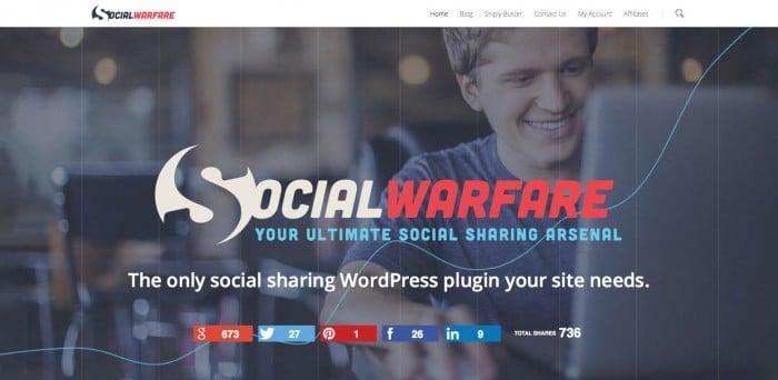 Social Warfare: Your Ultimate Social Sharing Arsenal