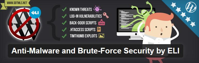 WordPress › Anti Malware and Brute Force Security by ELI « WordPress Plugins