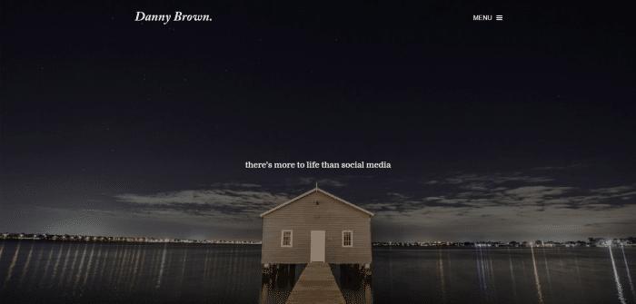 Danny Brown homepage