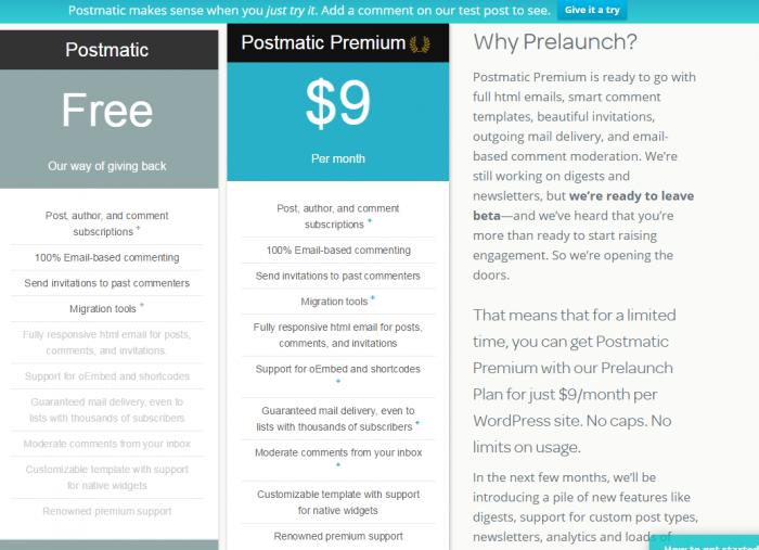 Postmatic Premium · Postmatic