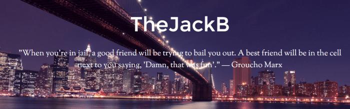 The JackB  The Original Dad Blogger