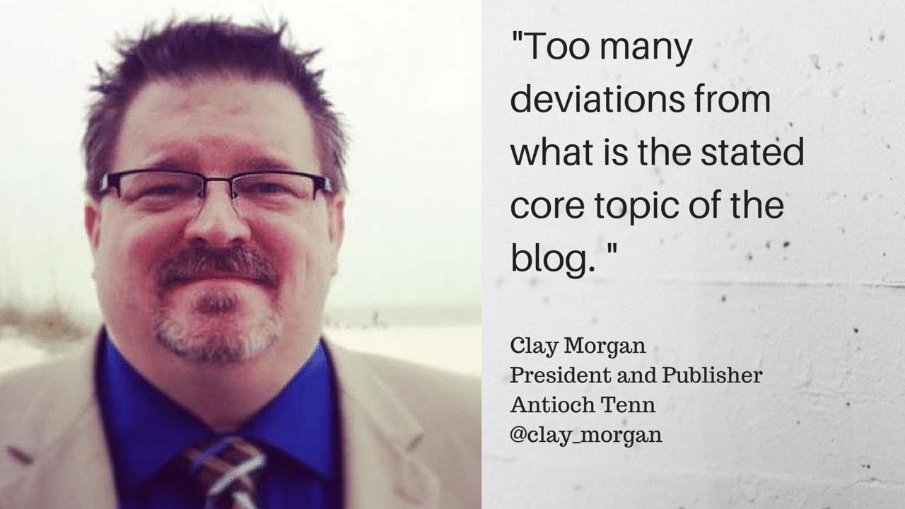 Clay Morgan quote