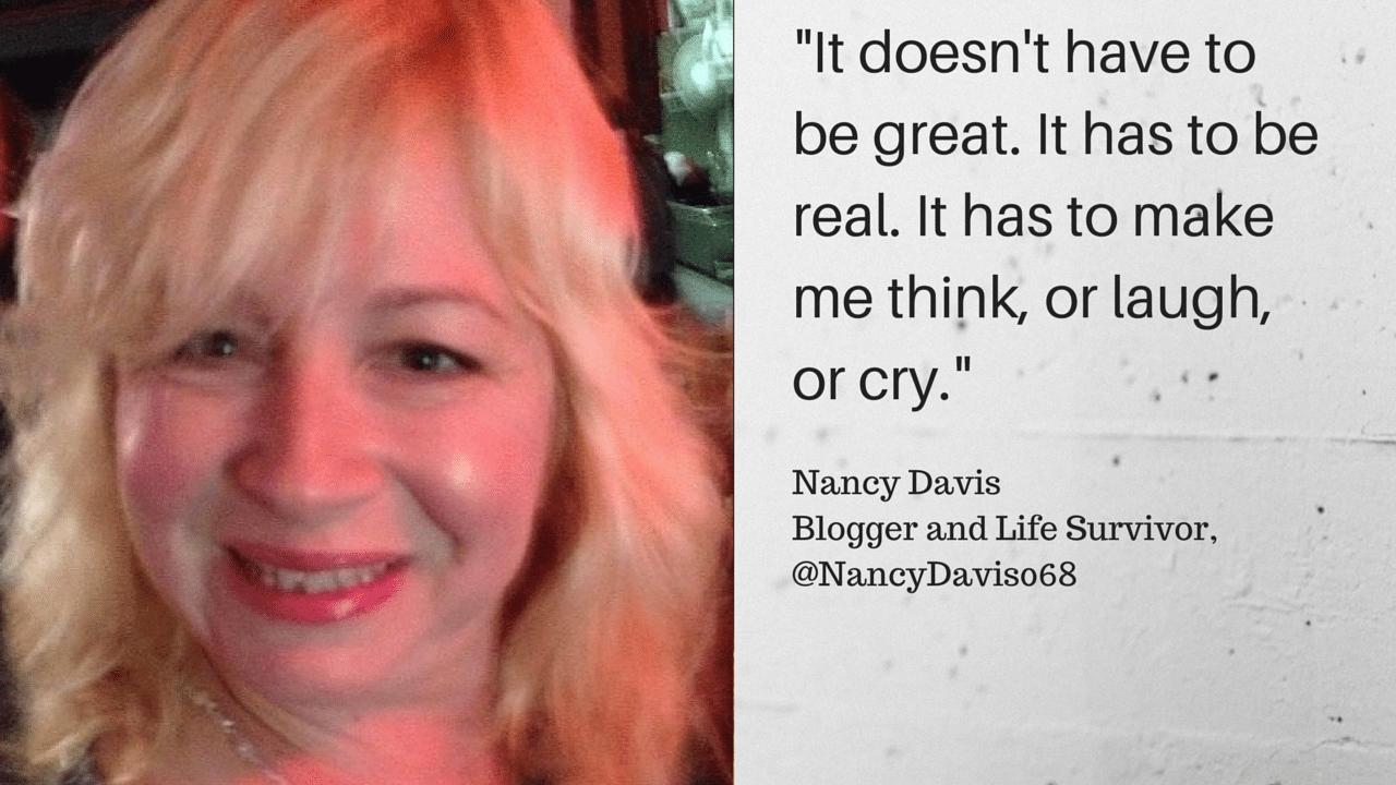 Nancy Davis quote