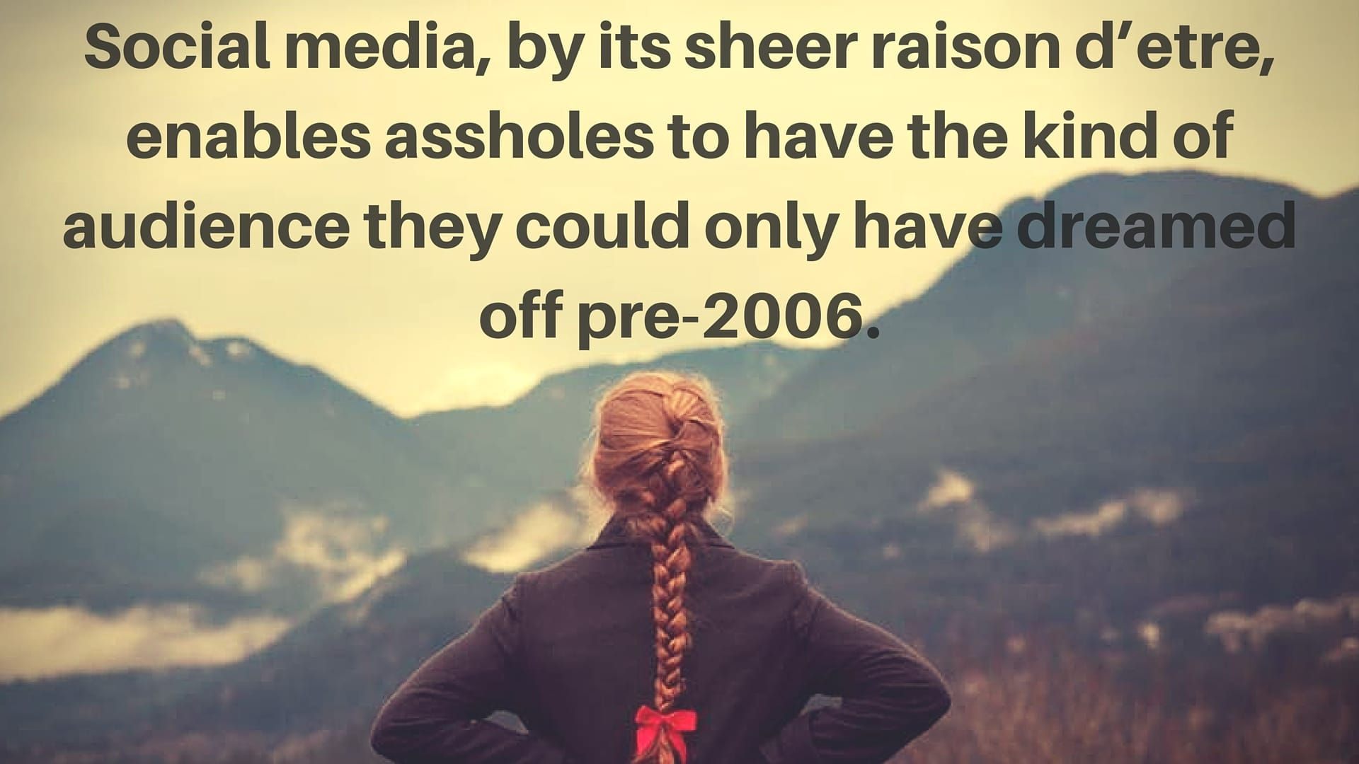 Social media assholes