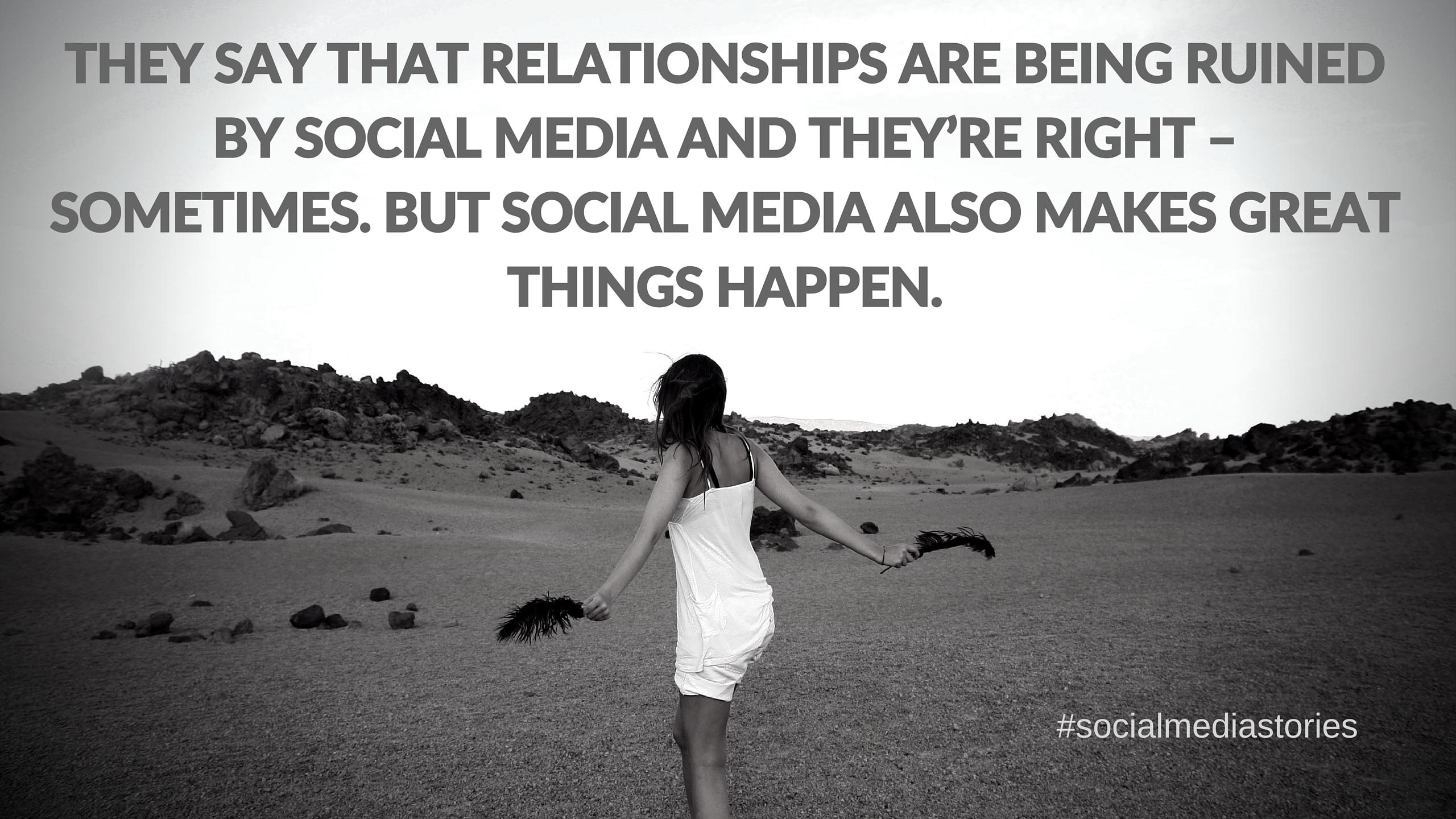 Social media love story