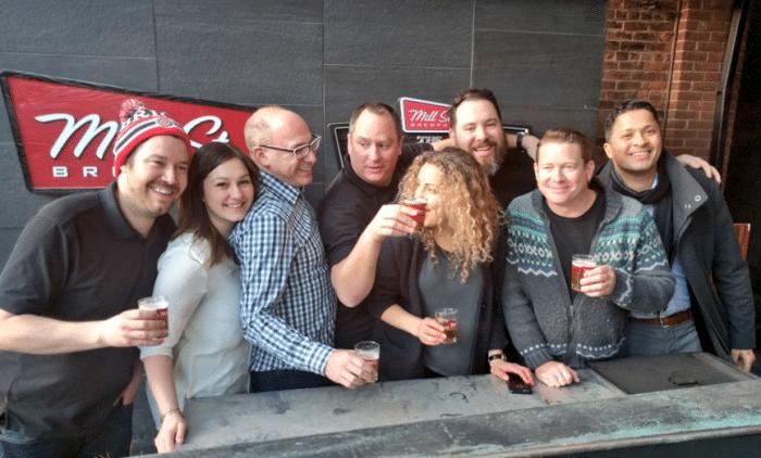 Mill Street Brewery team