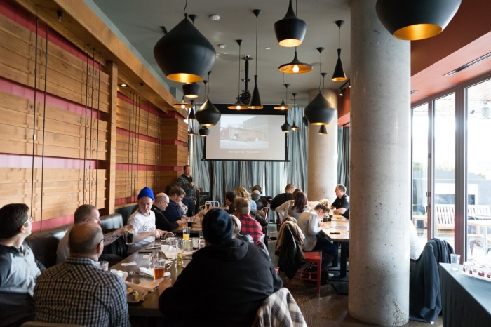 Mill Street Beer Days roundtable