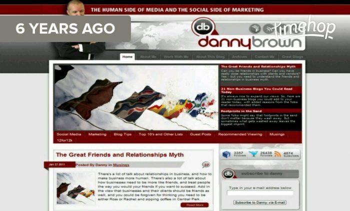 Danny Brown blog 2011