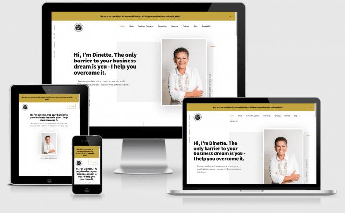 Dinette Rivera website